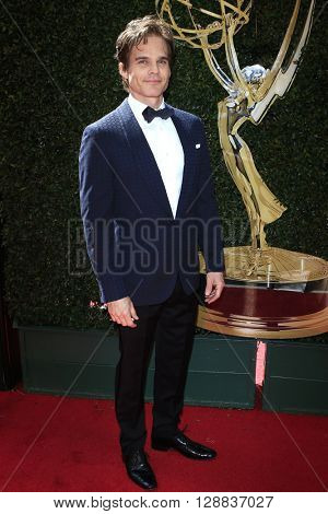 LOS ANGELES - May 1: Greg Rikaart at The 43rd Daytime Emmy Awards Gala at the Westin Bonaventure Hotel on May 1, 2016 in Los Angeles, California