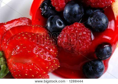 Strawberry Blueberry Desert