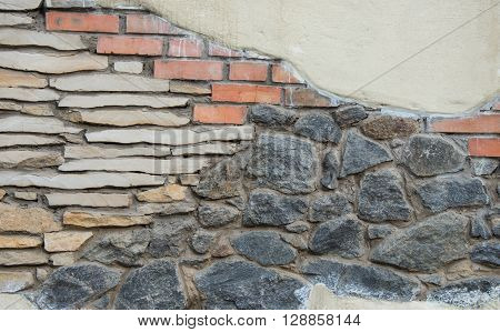 Stone wall texture  brown, brickwall, architectural detail,