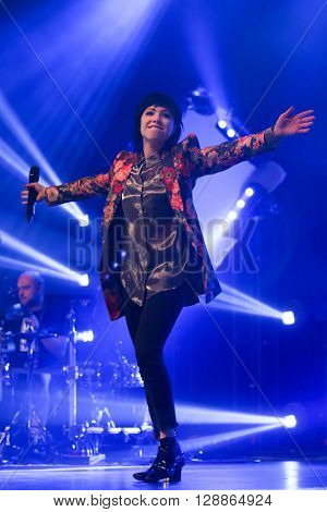 HUNTINGTON, NY-MAR 26: Carly Rae Jepsen performs onstage at the Paramount on March 26, 2016 in Huntington, New York.