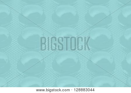 blue pills in blister pack can be used as background