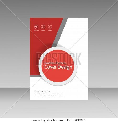 Abstract brochure design template. flyer design, book, print design, brochure template. Brochure abstract design. Brochure background.