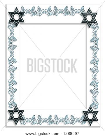 Star Of David Frame