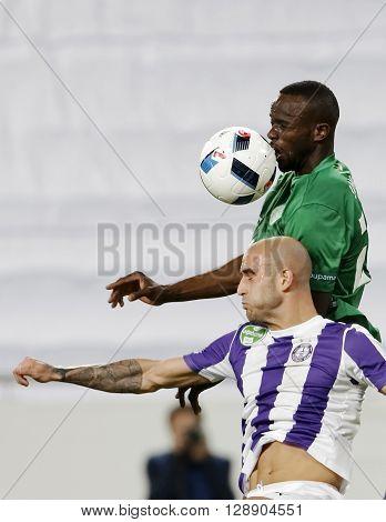 Hungarian Cup Final Football Match Between Ujpest Fc And Ferencvarosi Tc