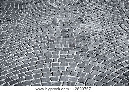 Patterned Paving Tiles