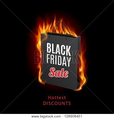 Black Friday discounts increasing consumer growth. Fire packet