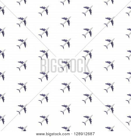 Planes. Pattern. Seamless vector illustration. Swatch inside.