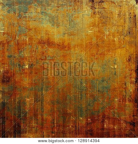 Colorful abstract retro background, aged vintage texture. With different color patterns: yellow (beige); brown; gray; red (orange)