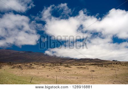 Mauna Kea Hills Near Highway 200