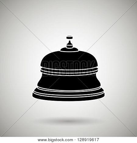 hotel bell design, vector illustration eps10 graphic