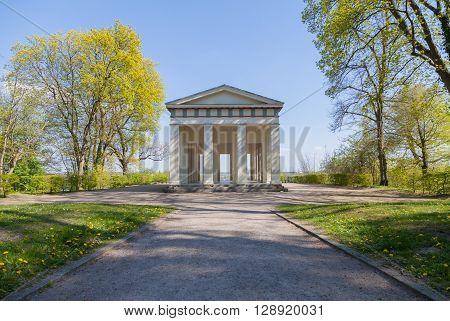 geek temple Belvedere lookout in Neubrandenburg, Germany