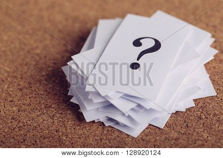 Question Mark Paper