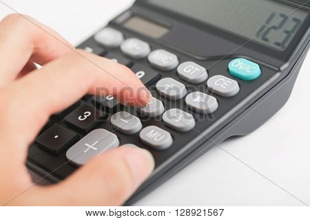 Using The Calculator