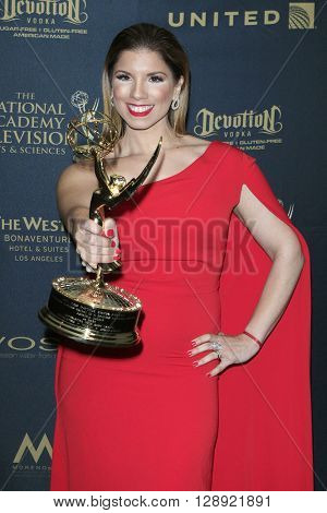 LOS ANGELES - May 1: Gabriela Natale at The 43rd Daytime Emmy Awards Gala at the Westin Bonaventure Hotel on May 1, 2016 in Los Angeles, California