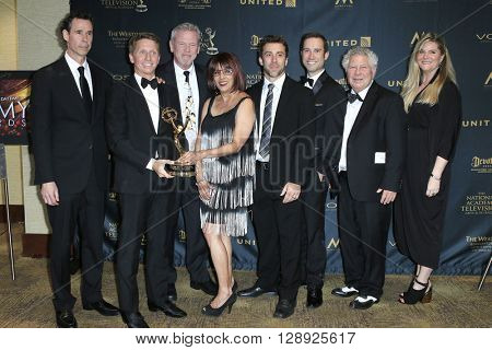 LOS ANGELES - May 1: The Bold and The Beautiful, Writing Team at The 43rd Daytime Emmy Awards Gala at the Westin Bonaventure Hotel on May 1, 2016 in Los Angeles, California