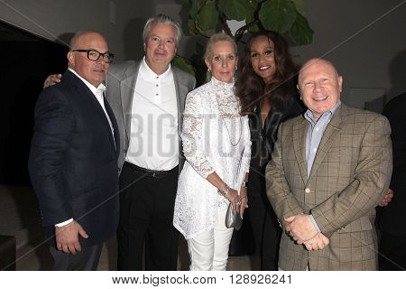PALM SPRINGS - APR 27: Peter Mahler, Beverly Johnson, Jeffrey Lane at a cultivation event for The Actors Fund at a private residence on April 27, 2016 in Palm Springs, California