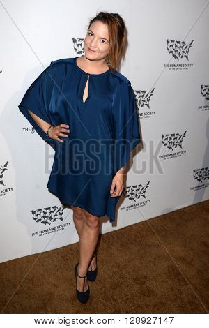 LOS ANGELES - MAY 7:  Elena Hight at the Humane Society Of The United States LA Gala at the Paramount Studios on May 7, 2016 in Los Angeles, CA