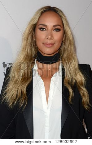 LOS ANGELES - MAY 7:  Leona Lewis at the Humane Society Of The United States LA Gala at the Paramount Studios on May 7, 2016 in Los Angeles, CA