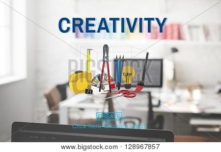 Creativity Craft Creation Ideas Design Art Concept