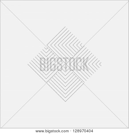 Ripple Flooring Canvas Minimal Art Odd Design