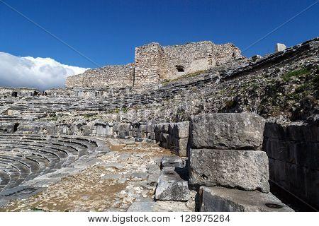 Miletus Amphitheater View
