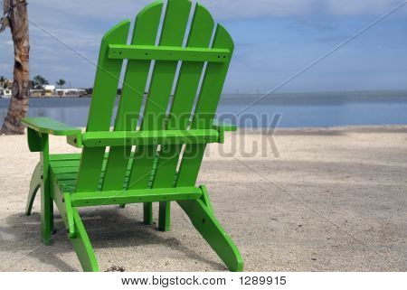 Green Beach Chair