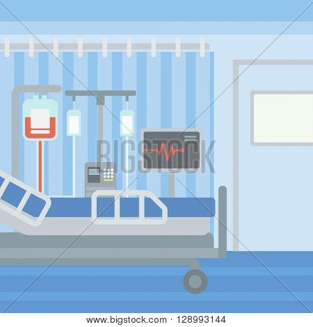 Background of hospital ward.