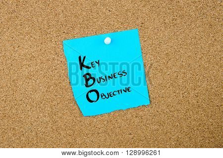 Business Acronym Kbo Key Business Objective