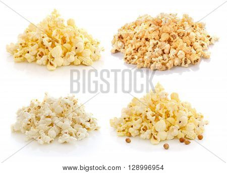 Pop Corn isolated on a white background