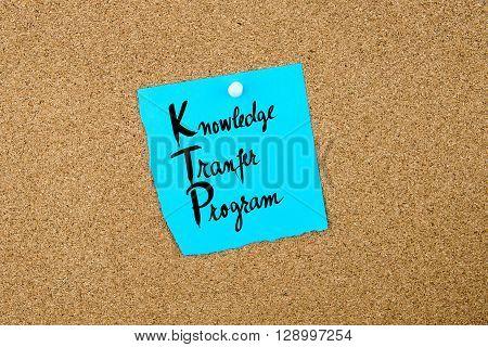 Business Acronym Ktp Knowledge Transfer Program