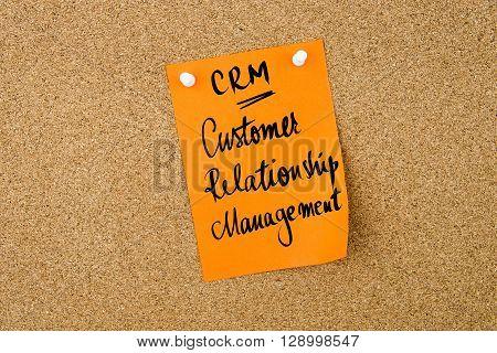 Business Acronym Crm Customer Relationship Management