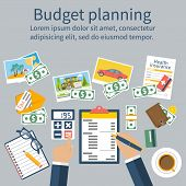 Family Budget Planning. poster