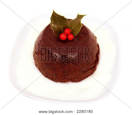 Holly Pudding