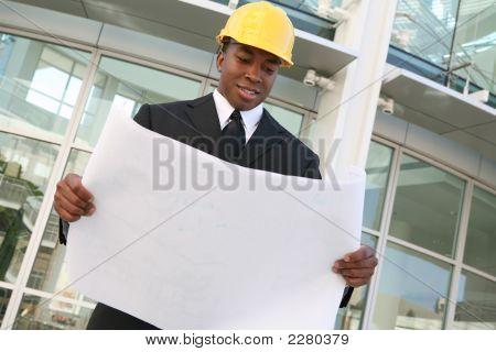 Business Man Architect