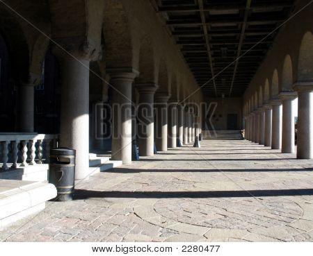 Pillars In A Castle 3B