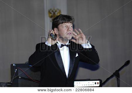Russian singer Felix Tsarikati