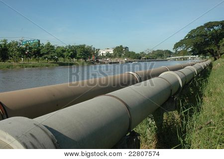 natural  gas pipe line