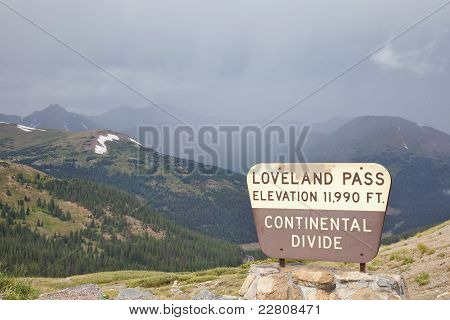 Loveland Pass - Continental Divide
