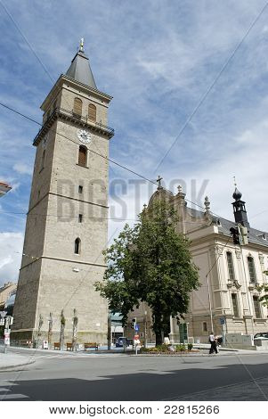 Bell tower in Austria