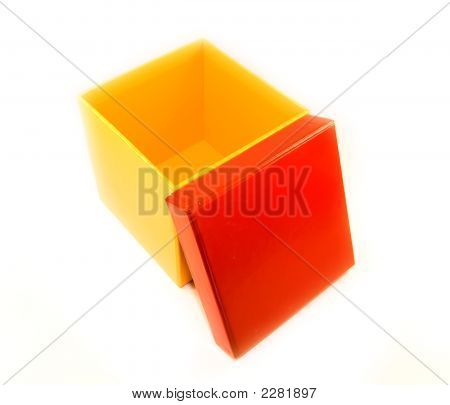 Opened Yellow Box