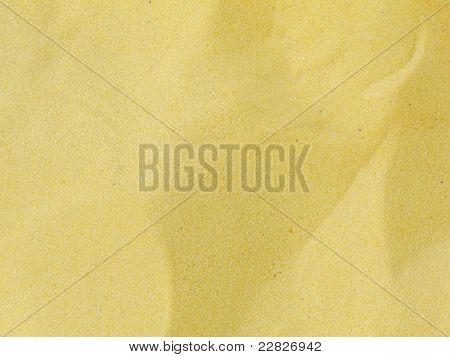 Echte gelben Sand Textur