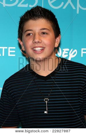 LOS ANGELES - AUG 19:  Bradley Steven Perry at the D23 Expo 2011 at the Anaheim Convention Center on August 19, 2011 in Anaheim, CA