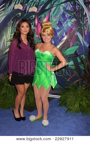 LOS ANGELES - AUG 19:  Brenda Song, Tinkerbell at the D23 Expo 2011 at the Anaheim Convention Center on August 19, 2011 in Anaheim, CA