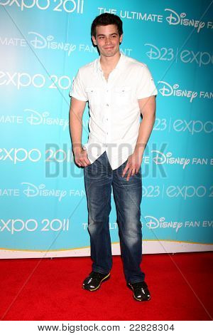 LOS ANGELES - AUG 19:  Damien C. Haas at the D23 Expo 2011 at the Anaheim Convention Center on August 19, 2011 in Anaheim, CA