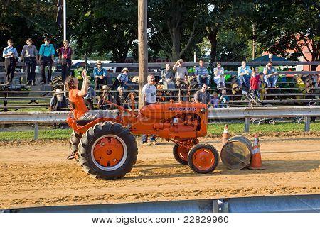 Tractor Barrel Roll