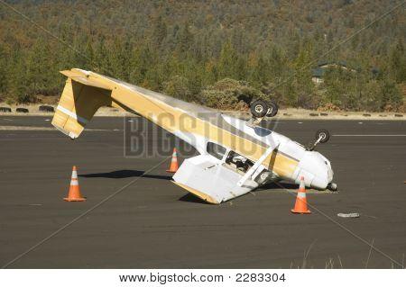 Schlechte Landung