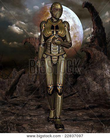 Fantasy Science Fiction Armour