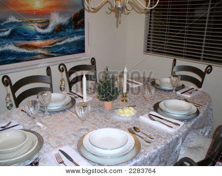 Beach House Christmas Table