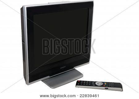 black television set