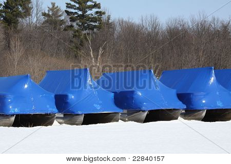 Boats-Winterized Covering